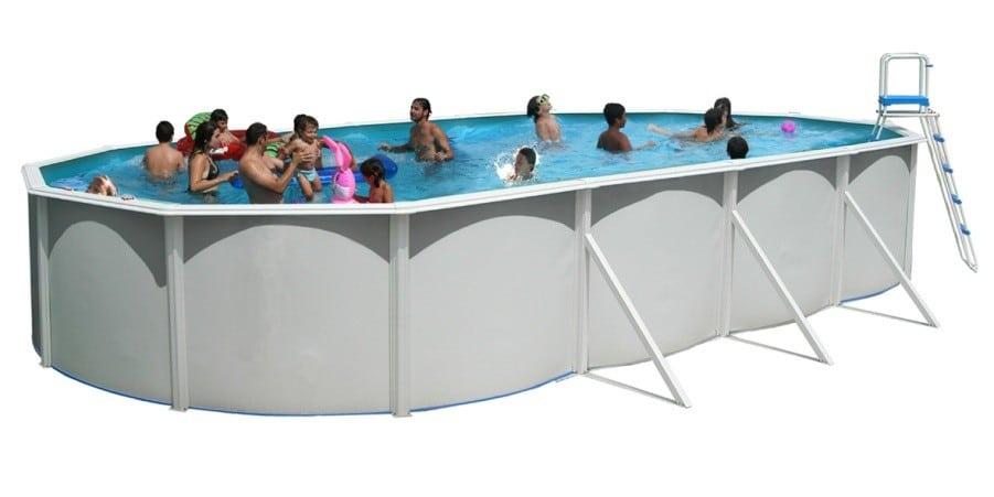 piscine en acier